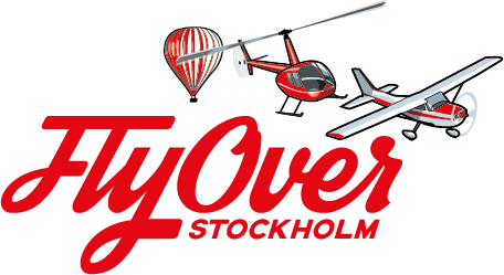 Fly Over Stockholm