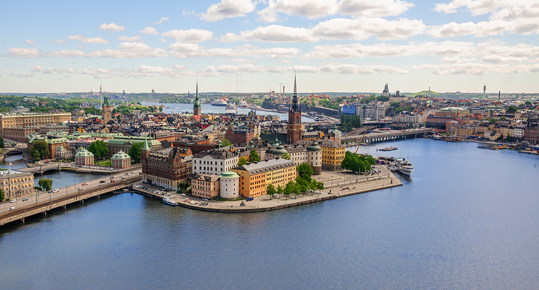 Stockholm helicopter tour