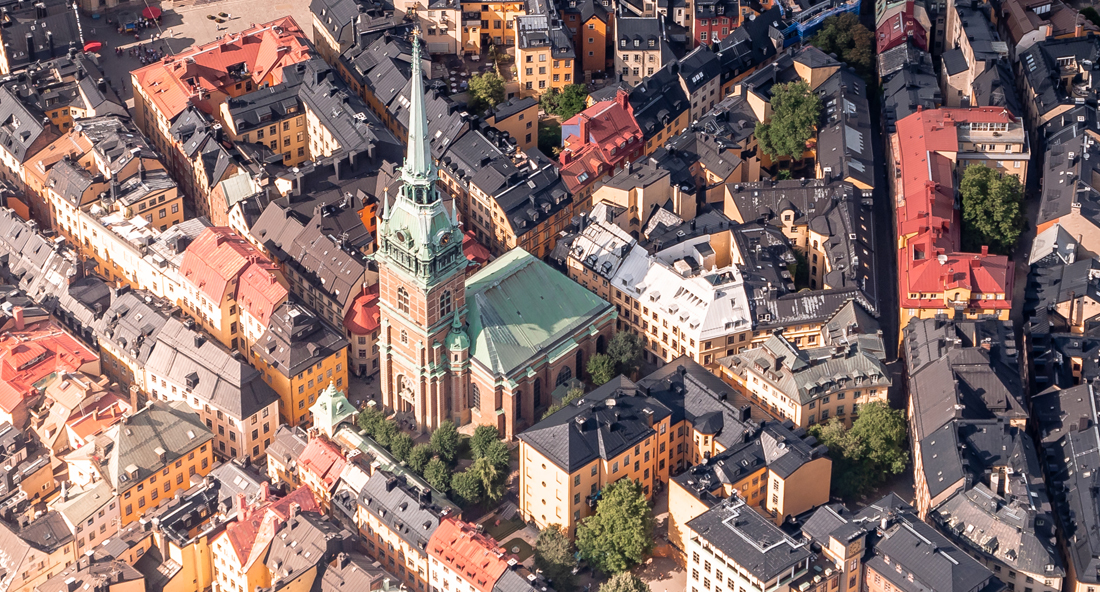Stockholm helicopter ride