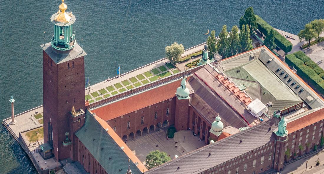 Stockholms indre helikoptertur med øhav