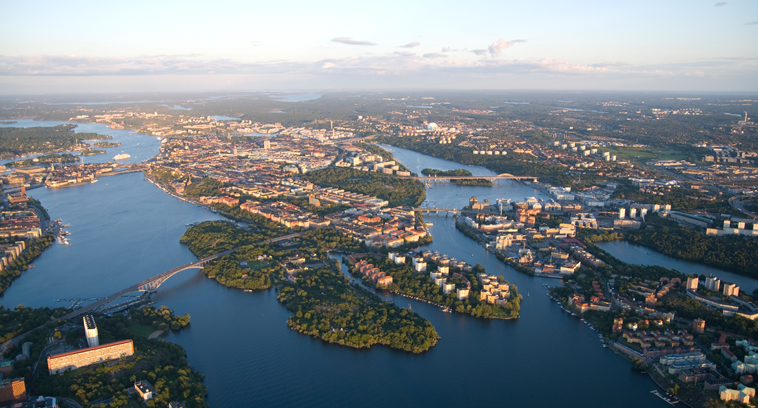Stockholm Archipelago Picnic helicopter ride
